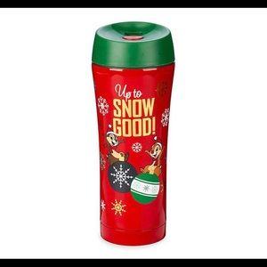 Disney Mickey Mouse Holiday Travel Mug